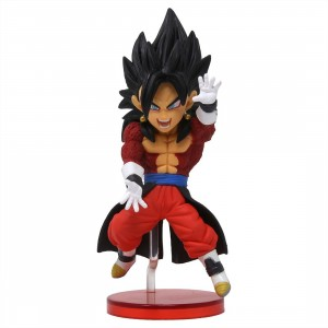 Banpresto Super Dragon Ball Heroes World Collectable Figure Vol. 5 - 21 Super Saiyan 4 Vegito Xeno (red)