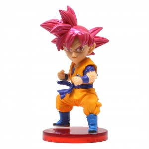Banpresto Super Dragon Ball Heroes World Collectable Figure Vol. 6 - 26 Super Saiyan God Goku (orange)