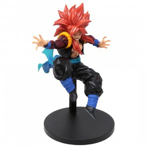 Banpresto Super Dragon Ball Heroes 9th Anniversary Figure Super Saiyan 4 Xeno Gogeta Figure (red)