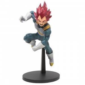 Banpresto Dragon Ball Super Blood Of Saiyans Special Ver. 7 Super Saiyan God Vegeta Figure (pink)