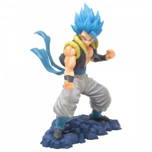 Banpresto Dragon Ball Super Super Saiyan God Super Saiyan Gogeta Figure (blue)