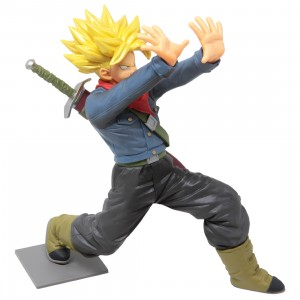 Banpresto Dragon Ball Super Galick Gun Super Saiyan Trunks Figure (yellow)