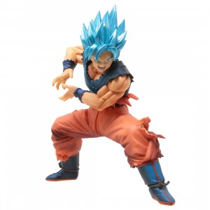 Banpresto Dragon Ball Super Maximatic The Son Goku II Figure (blue)