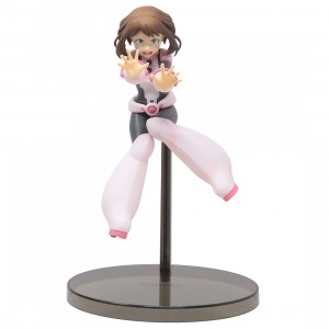 Banpresto My Hero Academia The Amazing Heroes Vol 7 Ochaco Uraraka Figure (pink)
