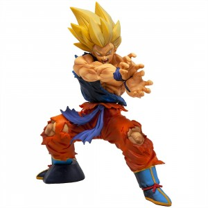 Banpresto Dragon Ball Legends Kamehameha Super Saiyan Son Goku Figure (tan)