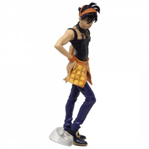 Banpresto JoJo's Bizarre Adventure Golden Wind JoJo's Figure Gallery 4 - Narancia Ghirga (purple)
