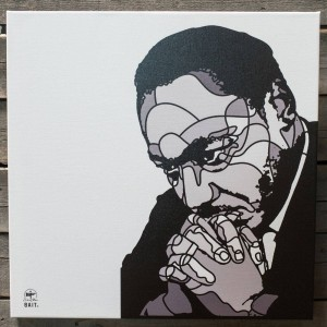 BAIT x David Flores 24 Inch Canvas - MLK (gray)