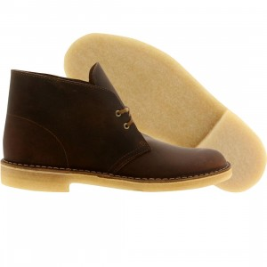 Clarks Originals Men Desert Boot (brown / beeswax)