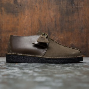 Clarks Men Desert Trek (green / olive combi)