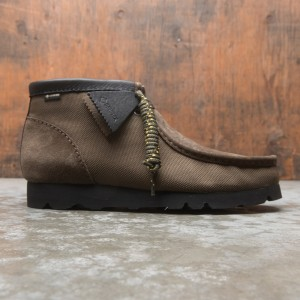 Clarks Men Wallabee BT Gore Tex (green / olive)