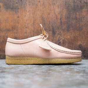 Clarks Men Wallabee Natural Veg Tan (brown)