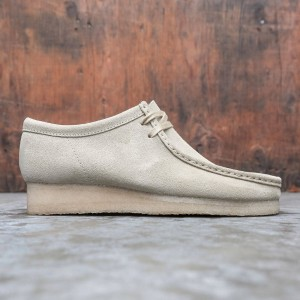 Clarks Men Wallabee Maple Suede (brown / tan)