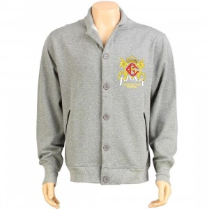 Crooks and Castles The Monolithic Empire Jacket (heather grey)