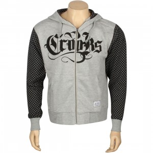 Crooks And Castles Crooks Zip Hoody (black)