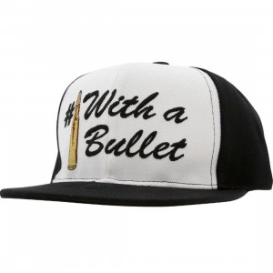 Crooks and Castles Number 1 With A Bullet Snapback Cap (black)