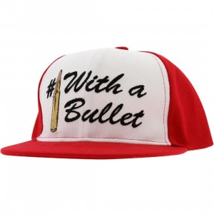 Crooks and Castles Number 1 With A Bullet Snapback Cap (red)