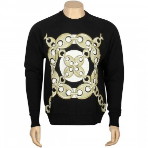 Crooks And Castles Linked Crewneck (black)