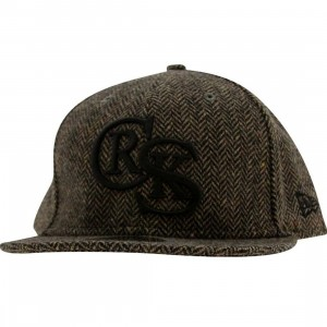 Crooks and Castles CRKS New Era Fitted Cap (brown)
