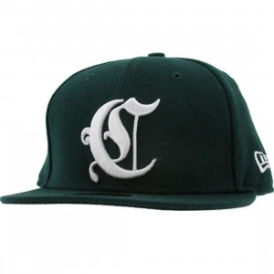 Crooks and Castles Emblem New Era Fitted Cap (hunter)