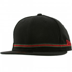 Crooks and Castles Strapped New Era Fitted Cap (black)
