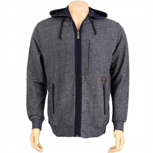 Crooks and Castles Hooded Jacket (navy)