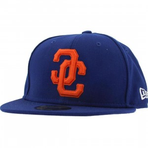 Crooks and Castles Link Logo New Era Fitted Cap (blue)