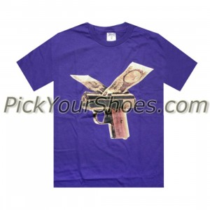 Crooks and Castles Crooks Money Wings Tee (purple)
