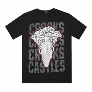 PickYourShoes.com X Crooks and Castles Exclusive Bandito Tee III (black)