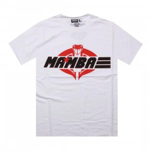 Crooks and Castles x PYS.com G.I. Mamba Tee (white / black / red) - PYS.com Collab