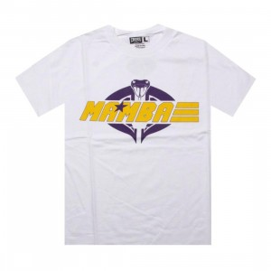 Crooks and Castles x PYS.com G.I. Mamba Tee (white / purple / yellow) - PYS.com Collab