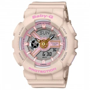 Casio Baby-G Pokemon 25th Anniversary Pikachu BA110PKC-4A Watch (pink)