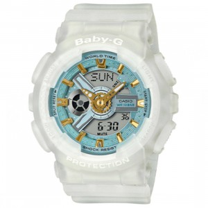Baby G BA110 Watch (white)