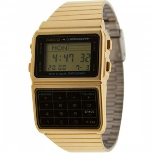 Casio Databank Multi Lingual Calculator Watch (gold)