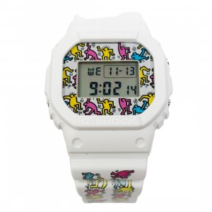 G-Shock Watches x Keith Haring DW5600 (white)