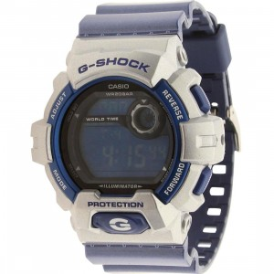Casio G-Shock G8900 Crazy Color Watch (silver / blue)