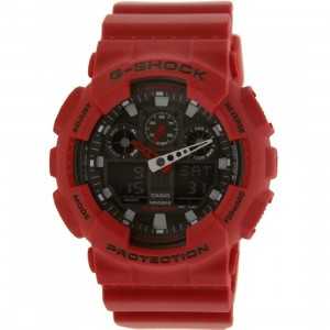 Casio G-Shock G100 Watch (red)