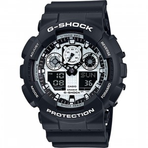 G-Shock Watches GA100 (black / white)