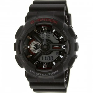 Casio G-Shock Big Case Vivid Watch (black / red)