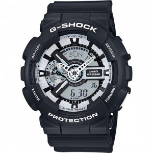 G-Shock Watches GA110 (black / white)