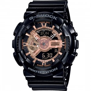 G-Shock Watches GA110MMC Watch (black / gold)