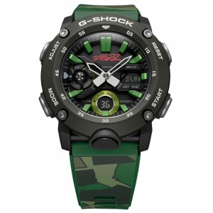 G-Shock Watches x Gorillaz GA2000 Watch (green)