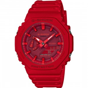 G-Shock Watches GA2100 Watch (red)