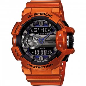 G-Shock Watches GBA400 Bluetooth Watch - GMix (orange)