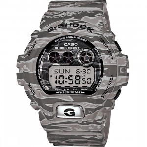 G-Shock GDX6900 Camoflauge Digital Watch (grey / camo)