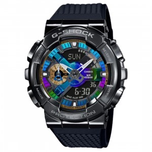 G-Shock Watches GM110B-1A Watch (black / blue)