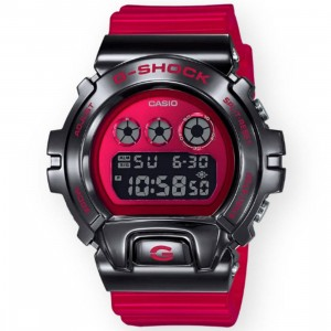 G-Shock Watches GM6900B-4 Watch (black / red)