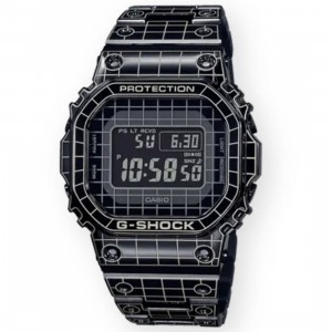 G-Shock Watches GMWB5000CS Grid Watch (black)