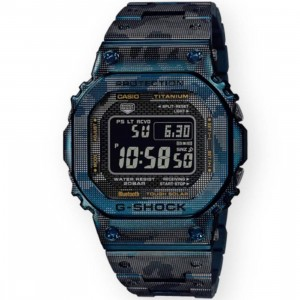 G-Shock Watches GMWB5000TCF-2 Titanium Metal Watch (blue)