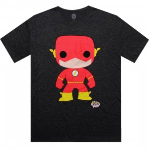 DC Comics Flash Funko Tee (charcoal)