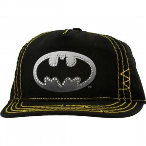 DC Comics Youth Batman Logo Adjustable Cap (black)